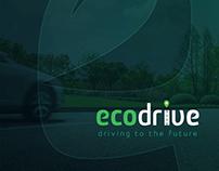 Eco Drive brand logo design