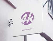 Free Signboard PSD MockUp in 4k
