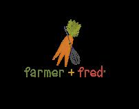 Farmer + Fred Logo