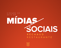 Social Media - Réchaud Restaurante