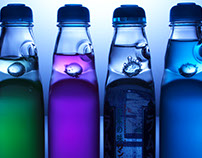 Ramune - translucent bottle