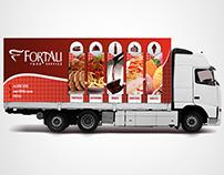 Plotagem Caminhão - Fortali