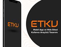 ETKU Scooter Mobile & Web Ui/Ux Design