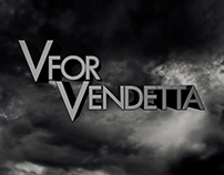 Motion Graphics: V for Vendetta Credits Sequence