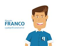 Mascote Franco