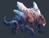 Ice/Lava beast (Ghaskrago)