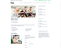 Event Page - Fitness WordPress Theme