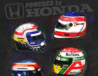 Honda Indy Poster