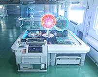 E.V.A. Space Station