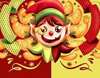 Propuesta Gráfica Navidad Mandarina - Link