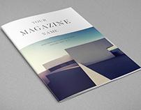 Clean Minimal Magazine