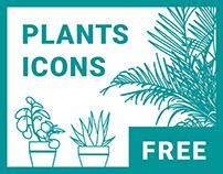 Free plants icons