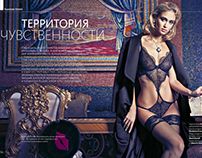 Territory of Sensuality |  Women`s Magazine