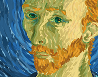 Digital Painting | Vincent Van Gogh