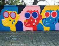 """Crybabies"" Street Art"