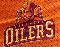 Richmond Oilers -Rebrand Sport Logo Series