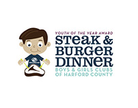 Boys & Girls Club Steak and Burger Dinner