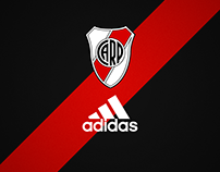 River Plate away kit by Adidas