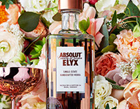 ABSOULT VODKA ELYX