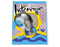 Illustrated Interview Magazine Cover