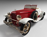 3D Car Modeling: Ford Model T
