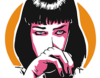 Uma Thurman - Mia Wallace from Pulp Fiction