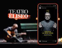 Teatro Eliseo® | SOCIAL STRATEGY & DESIGN