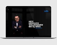 DJ MIKA_Microsite