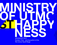 Ministry of utmost happyness. Digital Editorial Covers