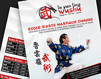 Lu Yun Ling Wushu / Flyer