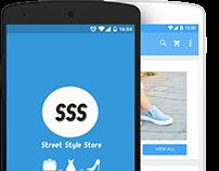 Street Style Store App Concept
