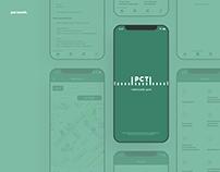 Tomsk CSM mobile app design