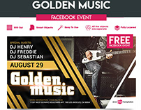 FREE GOLDEN MUSIC FACEBOOK EVENT PAGE
