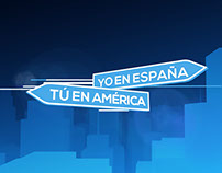 Yo en España, Tú en América