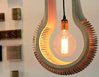 WoodenRibs Lamp