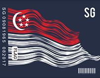 FLAG BARCODE DESIGN