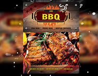 Restaurant Flyer & Manu Card/ Magazine Ad Template