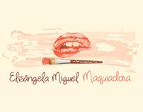 Cartão de visitas | Elisangela Miguel - Maquiadora