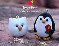 Heartfelt Felt And Polymer Clay Accessories