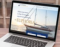 Euphoria yacht. Adaptive site