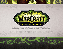 World of Warcraft: Legion - Hardcover Sketchbook