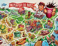 Dr Pepper Maze