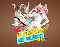 A Páscoa no Mundo  - Teatro Infantil
