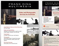 Frank Dina Poster & Postcard