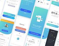 Insurance Payment App UI Design