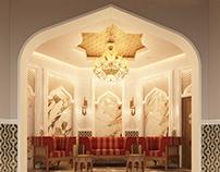 Living (Islamic Style) @ Private villa