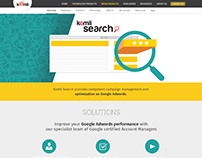 Komli Website Page