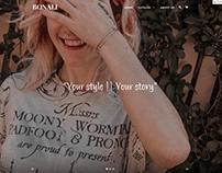 Bonali - Website Design