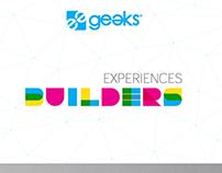 BRANDING. Campaña Geeks 2015: Experiences Builders