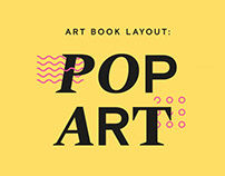 Pop Art: Branding and Book Layout